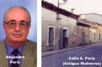 ALEJANDRO PERIS BARRIO, Calle de